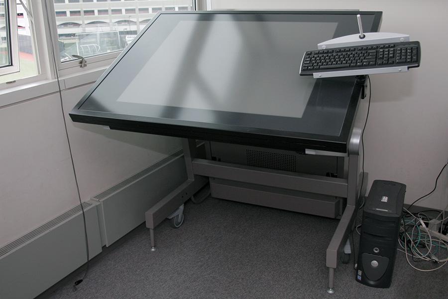 digital drafting table digital drafting tables ispace workstation ideum breaks out 4k